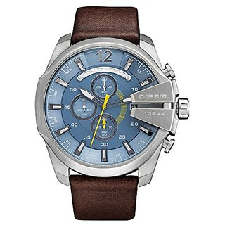 Diesel Stopwatch Chronograph Blue Dial Mens Watch - DZ4281I