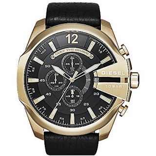 DieselDiesel Chi Chronograph Black Dial Mens Watch-DZ4344