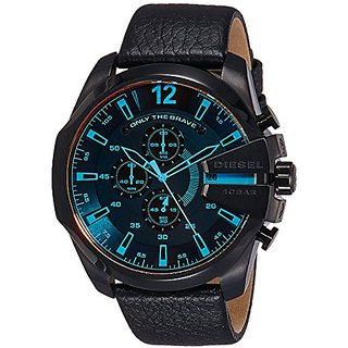 Diesel Chi Chronograph Black Dial Mens Watch - DZ4323I