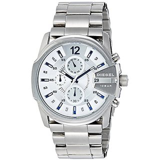 Diesel End-of-Season Analog Silver Dial Mens Watch - DZ4181