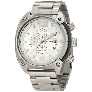 Diesel End-of-Season Analog Silver Dial Mens Watch - DZ4203