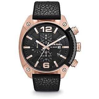 Diesel Chronograph Black Dial Mens Watch - DZ4297