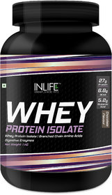 Inlife 100 Isolate Whey Protein Isolate Powder  1 Kg (C