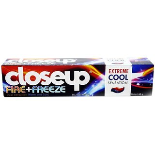 Closeup Fire+Freeze Dual Sensation Warm & Cool Toothpaste - 160g