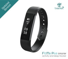 Tantra FitMe Plus IP67 Waterproof Fitness Tracker band with Step Count, Sleep Monitor, Calorie Tracker and Anti-lost