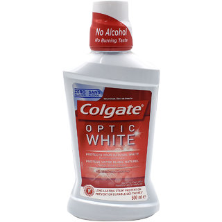 Colgate Optic White Whitening Mouthwash - 500ml