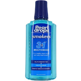 Pearl Drops Smokers 3in1 Mouthwash - 400ml