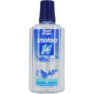 Pearl Drops Smokers Mouthwash - 400ml