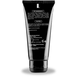 UrbanMooch Black Activated Charcoal Peel Off Mask for Blackheads Removal,  Skin Hair Removal, Anti Acne Skin Brightenin