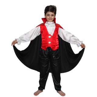Kaku Fancy Dresses Vampire Dracula Cosplay Costume CaliFor Kidsnia Costume Halloween  Costume For Kids School Annual function Theme Party Competition Stage ... 8b82309239c6