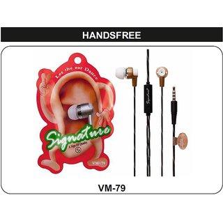 KSJ VM-79 Dancing Ear In-Ear wired Headphone Headset with Mic