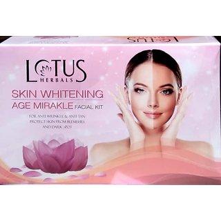 Lotus herbal whiting age mirakle facial kit