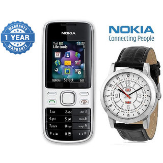 Nokia 2690 / Good Condition/ Certified Pre Owned (1 Year Warranty) with Branded Watch