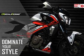 CR Decals Bajaj Dominar 400 Hyper Riding Race Kit