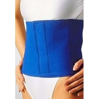 Bincy Unisex Xolo Gym 9902 Slimming Belt/Waist Trimmer Belt/Fat Reduce Belt Blue