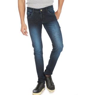 Campus Bunny Men's Blue Color Slim Fit Jeans