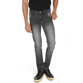 Campus Bunny Men's Grey Color Slim Fit Jeans