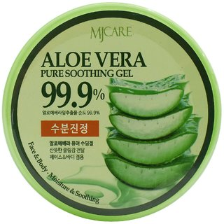 MJ Care Aloe Vera Pure Soothing Gel, Face & Body - 300ml