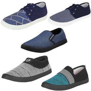 6bfc73001b98 Buy Bersache Men Boys Combo Pack 5 Casual Shoes Online - Get 64% Off