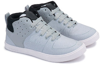 World Wear Footwear Men's Gray Sneakers