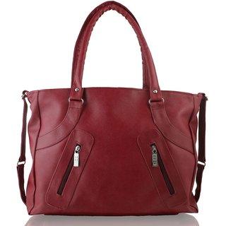 Code Yellow Women's Wine Handbag