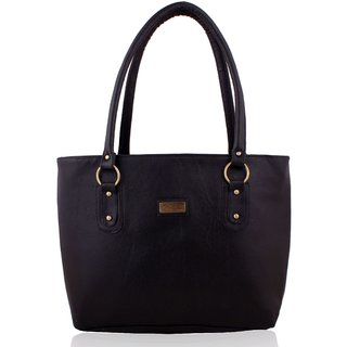 Code Yellow Women's Black Handbag