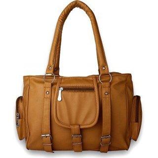 Code Yellow Women's Mustard Handbag