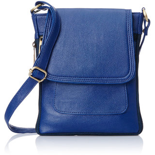 Buy Code Yellow Women s Blue Sling Bag Online - Get 67% Off c9d95a13a