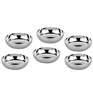 Tahiro Stainless Steel Bowls - Pack Of 6