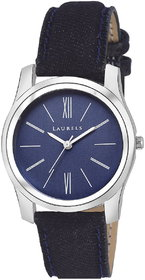 Laurels Blue Color Analog Women's Watch With Strap: LWW