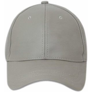 a9e0933e649 Buy DRUNKEN Men s Grey Adjustable Snapback Faux Leather Cap Online ...