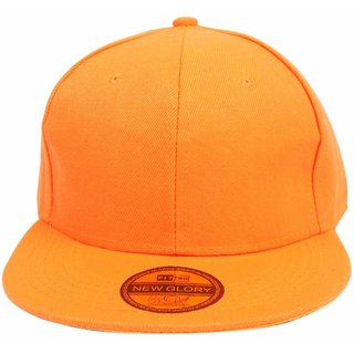 1ad45d3b042 Buy DRUNKEN Kid s Orange Adjustable Snapback Cotton Cap Online ...