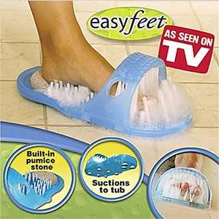 Easy Feet Foot Scrubber and Cleaning Slipper