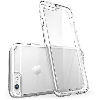 Ultra Thin hard plastic Transparent Back Cover for iphone 7