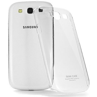 Samsung Galaxy S3 Ultra Thin hard plastic Transparent Back Cover case cover