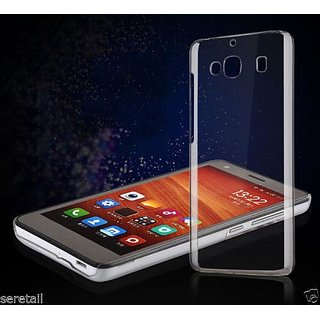 Ultra Thin hard plastic Transparent Back Cover case cover for Redmi 2s