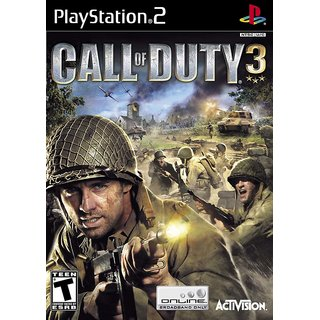Call Of Duty 3 (Ps2)Hd Graphic