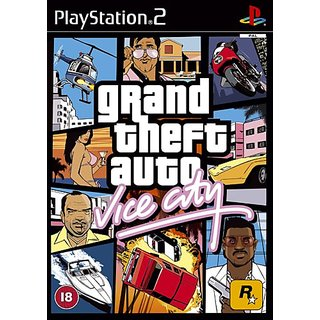 Grand Theft Auto Vice City (Ps2)Hd Graphic