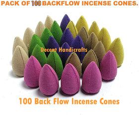 Backflow Incense Cones ( 100 smoke back flow cones )