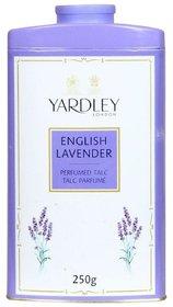 Yardley London English Lavender Perfumed Talc - 250g (8.8oz)