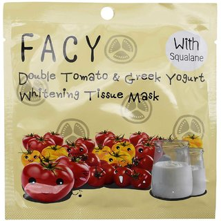 Facy Double Tomato & Greek Yogurt Whitening Mask