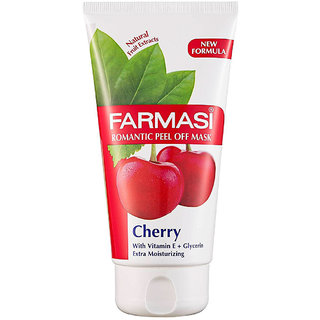 Farmasi Romantic Peel Off Mask, Cherry - 170ml (5.7oz)