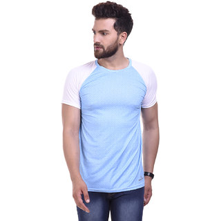 Campus Bunny Men's Round Neck Dry-Fit Half Sleeve T-Shirt