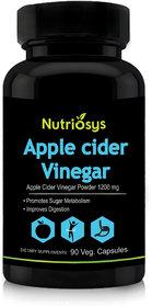 Nutriosys Apple Cider Vinegar - 1200mg (90 Veg Capsules