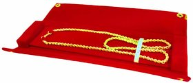 atorakushon 1 pcs  Necklace Chain Bracelet Storage Vanity Box Attractive Look  Fashionable Girl jewellery pouch Red