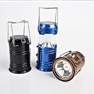 4 in 1 Emergency Solar/Rechargeable Led Light with Torch And USB Power bank