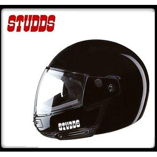 Studds Ninja Pastel Plain Full Face Helmet - ( Black Color ) @ Best Price.!