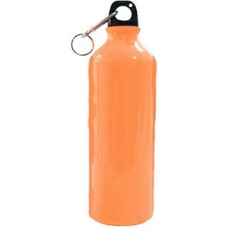 Bincy Matt Finish/Light Weight/Leak Proof/Stainless Steel Water Bottle 750 Ml (Orange)
