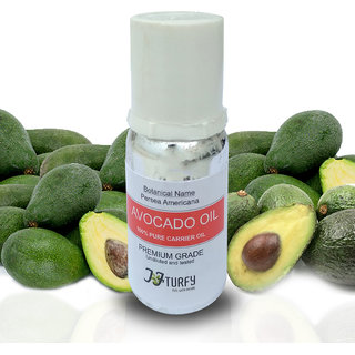 Avocado Oil Pure and Natural Carrier Therapuetic Grade Oil 20 ML (Pack Of 2)
