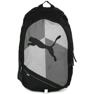 Puma Echo Plus 15 L Backpack (Black White) Bag